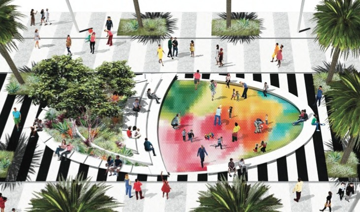 lincoln road: where will the kids play? - South Beach