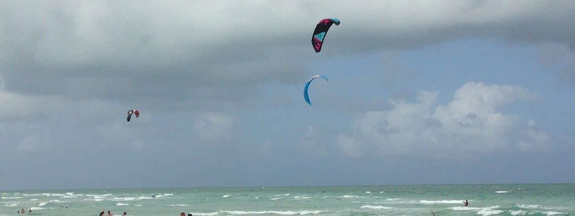 Kiteboarding On Miami Beach It S Getting Complicated