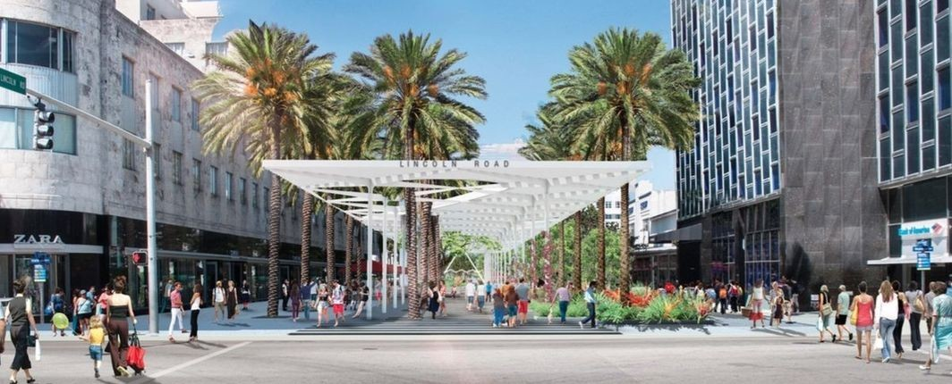 Lincoln Road Redesign South Beach